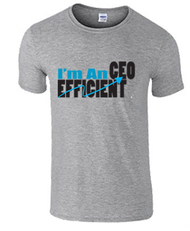 Efficient CEO Mens T-shirt