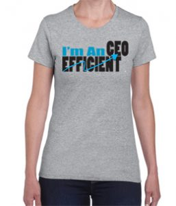 Efficient CEO Tshirt for women